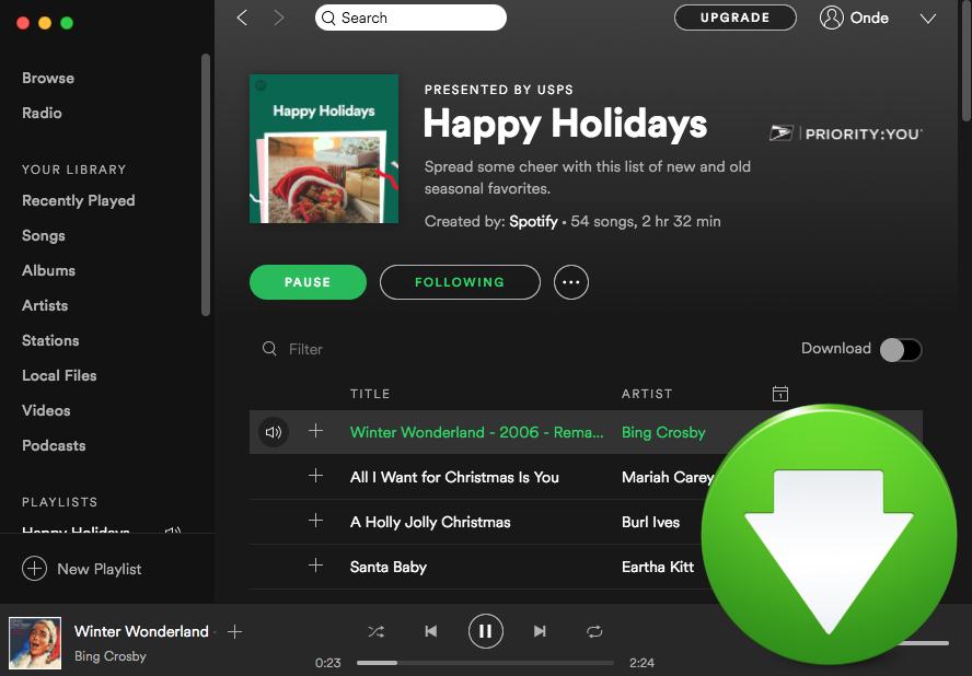 como descargar musica de spotify free
